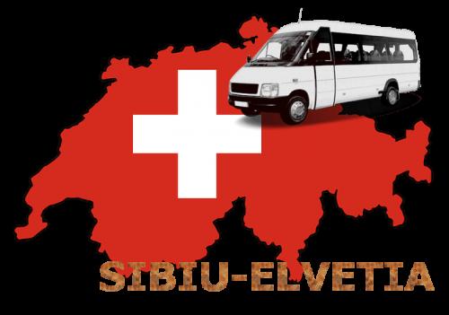 transport persoane si colete  sibiu elvetia