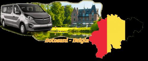 transport persoane botosani belgia