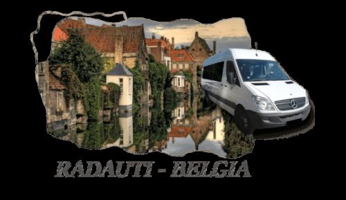 Transport persoane Radauti Belgia