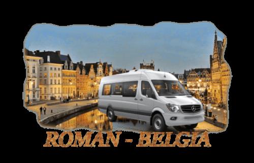 Transport persoane Roman Belgia